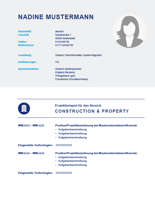 Muster-Profil Contracting zum Download