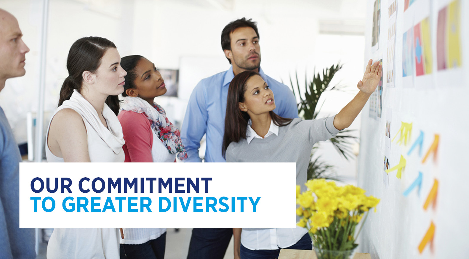 Our commitment to greater diversity